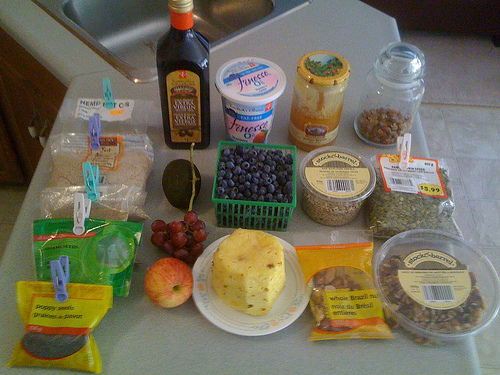 Healthy Fruit And Nut Ingredients