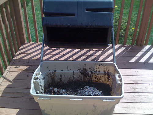 Composter Emptied